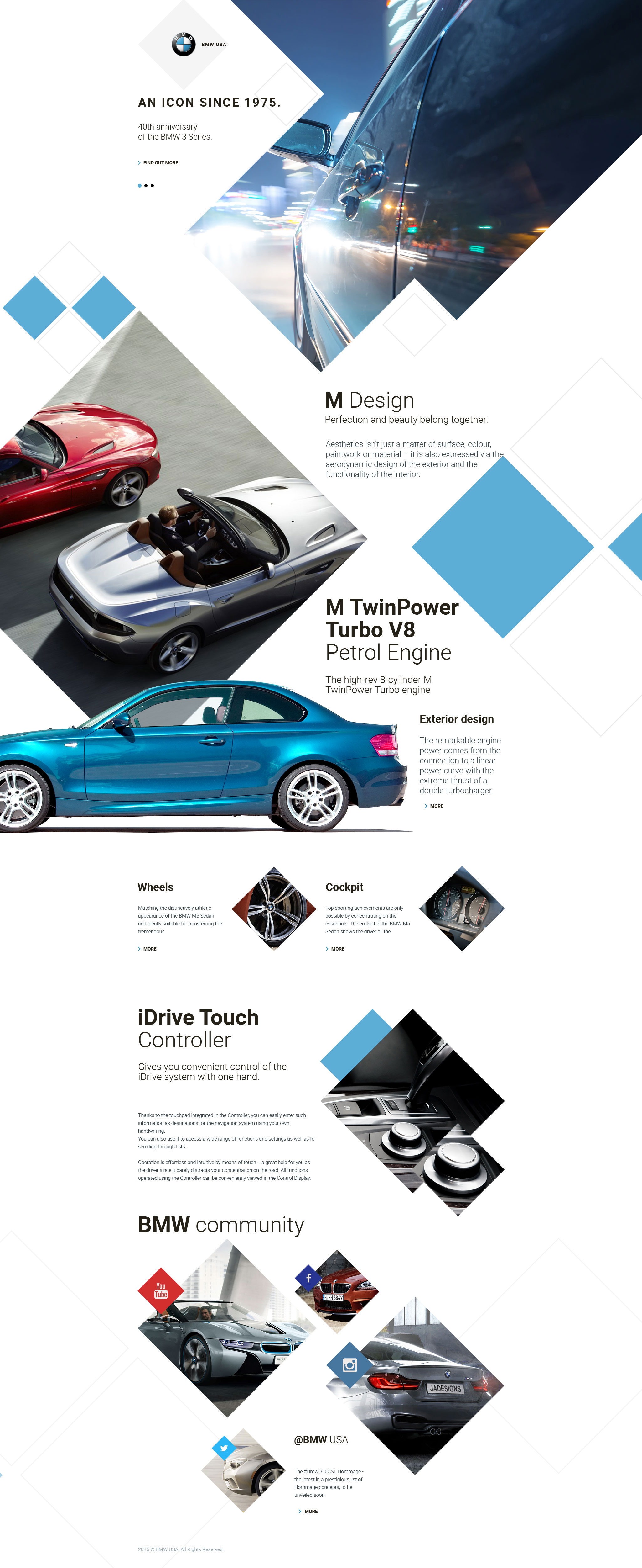 Car Responsive Landing Page Template