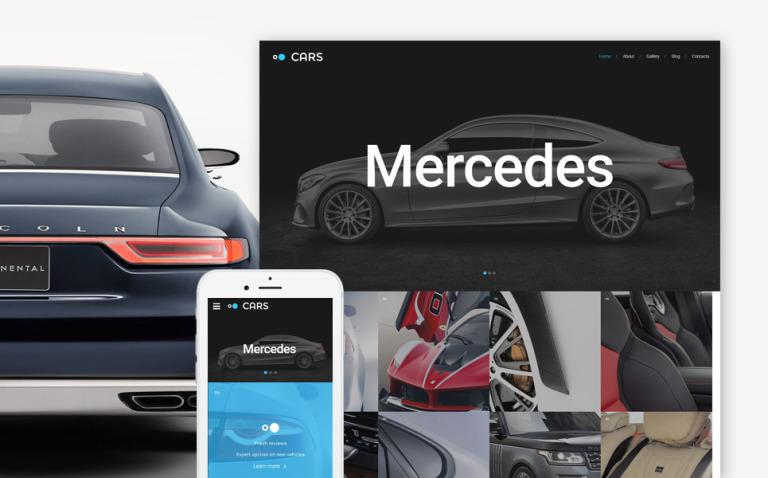 Car Responsive Website Template New Screenshots BIG