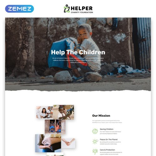 Charity - Charity Website Template based on Bootstrap