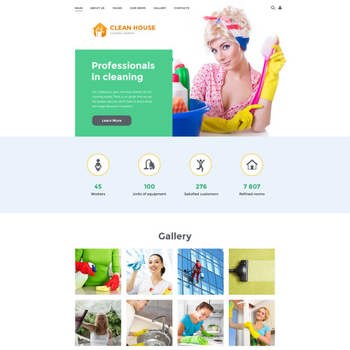 Clean House - Joomla! Template based on Bootstrap