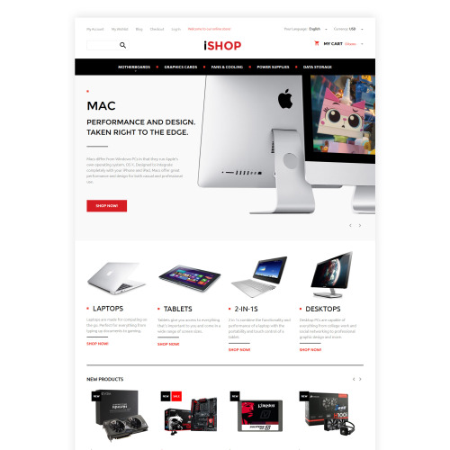 Ishop - Magento Template based on Bootstrap