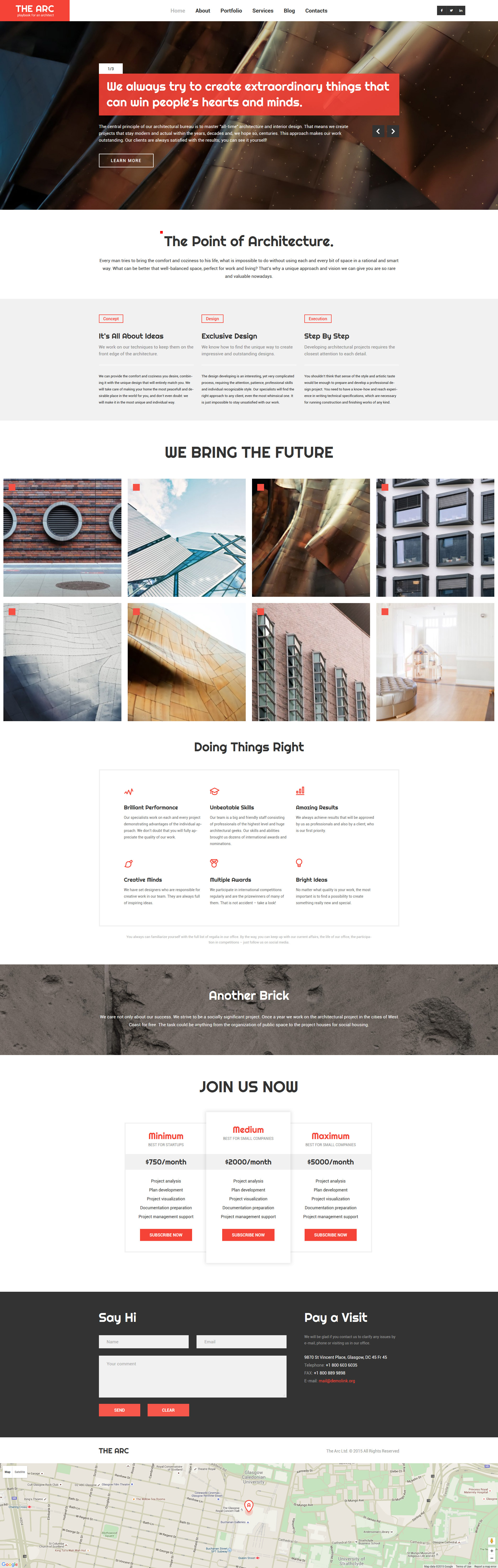 Construction Company Responsive WordPress Theme №57688