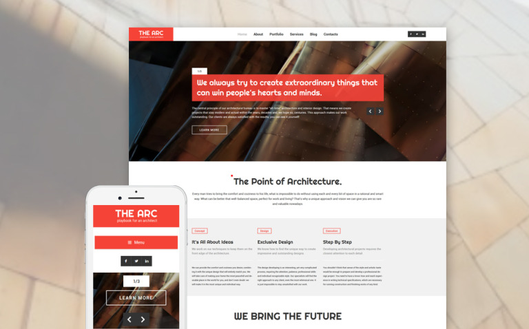 Construction Company Responsive WordPress Theme WordPress Theme New Screenshots BIG