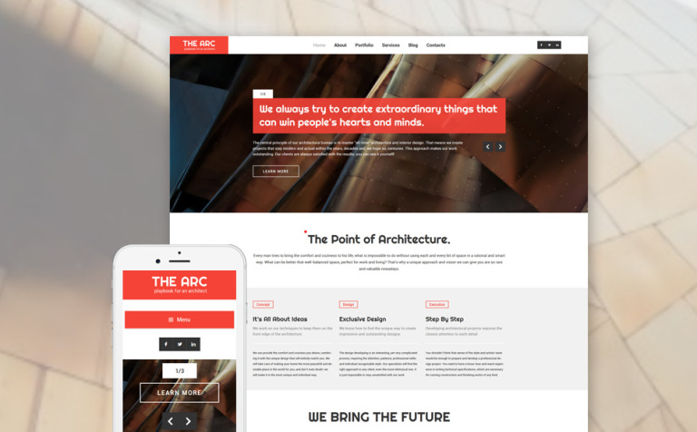 Construction Company Responsive WordPress Theme WordPress Theme #57688