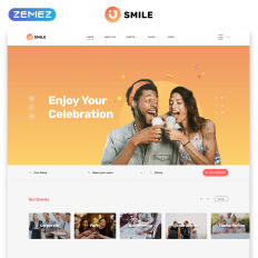 Event Planner Bootstrap Website Template
