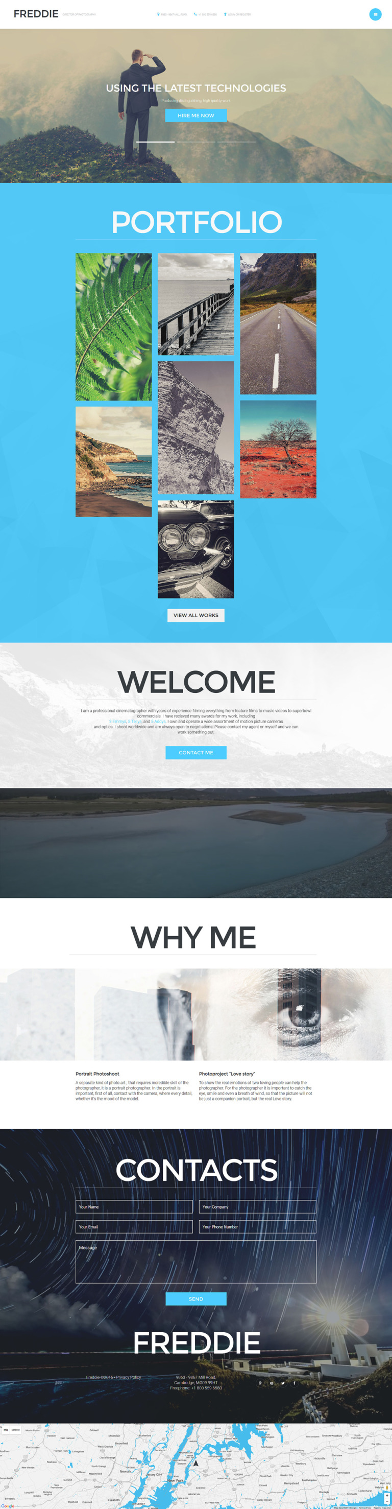 Freddie Joomla Template New Screenshots BIG