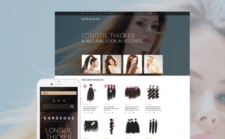 Hair Extensions WooCommerce Theme