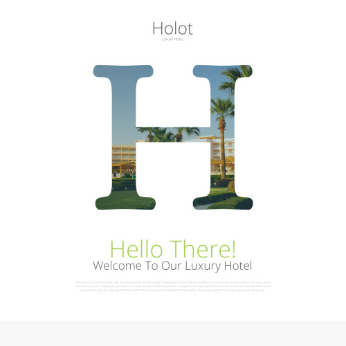 Holot - Responsive Landing Page Template