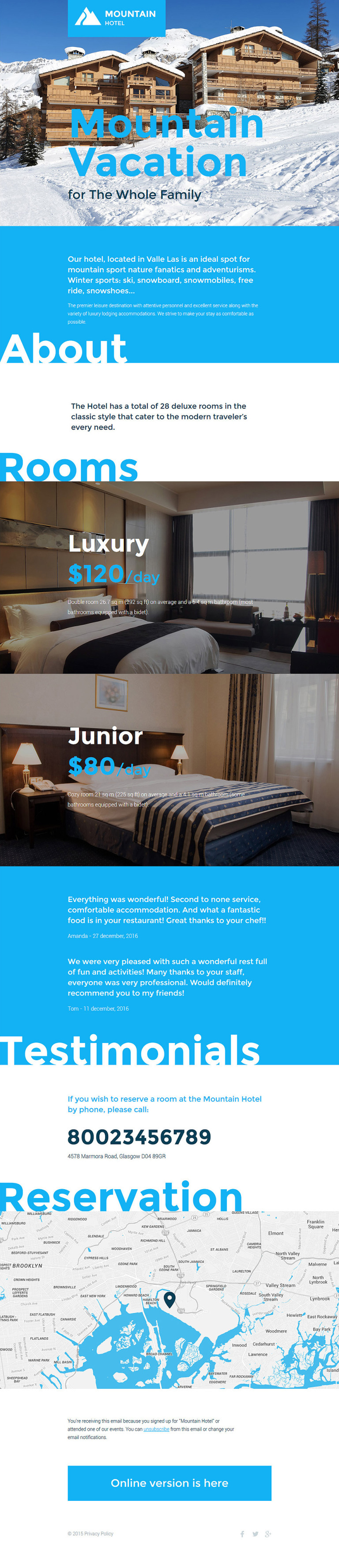 Hotels Responsive Newsletter Template New Screenshots BIG