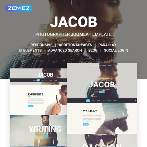 Jacob - Joomla! Template based on Bootstrap