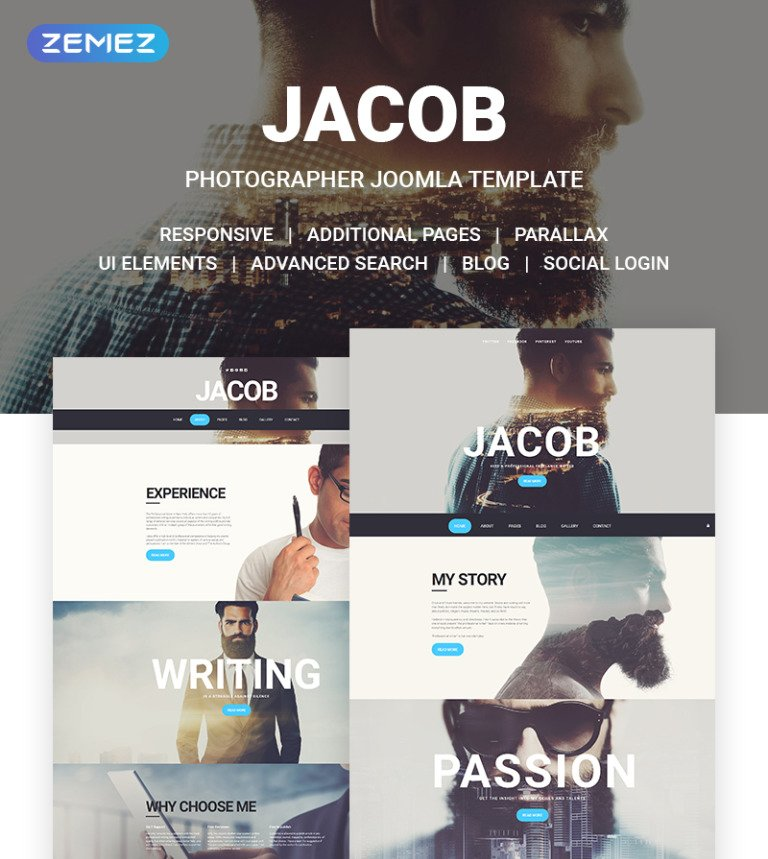 Jacob Joomla Template