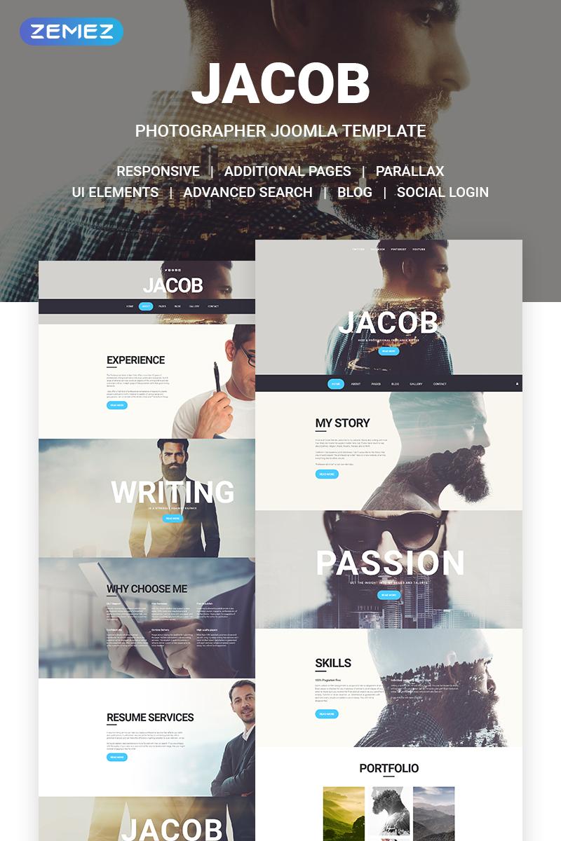 """Jacob"" Responsive Joomla Template №57664"