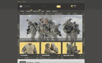 Military PrestaShop Theme