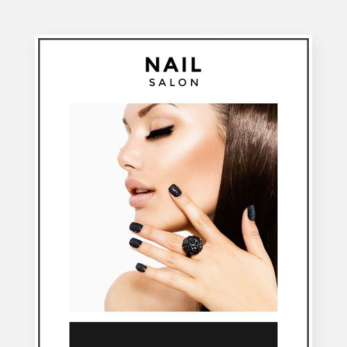 Nail Salon - Responsive Newsletter Template