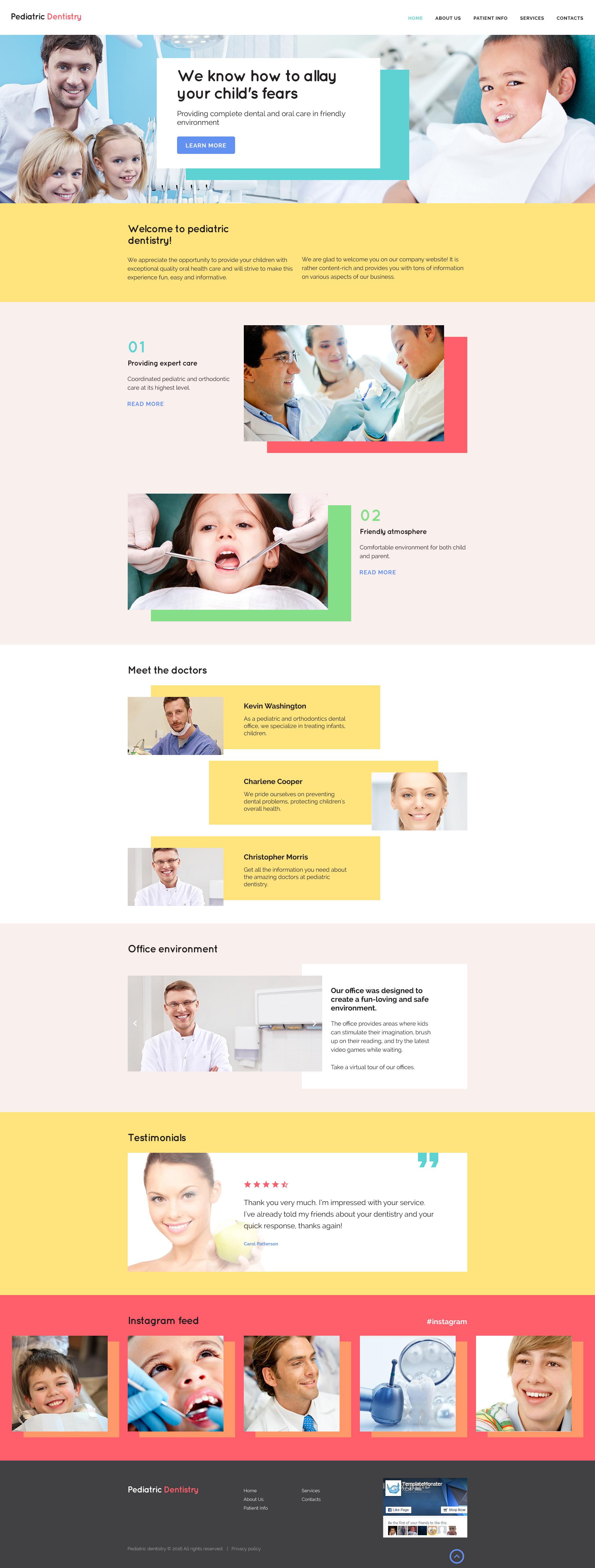 """Pediatric Dentistry"" modèle web adaptatif #57696"