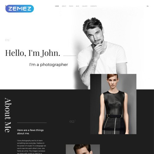 John Smith - HTML5 Joomla! Template