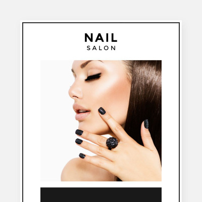 Nail Salon Responsive Newsletter šablona