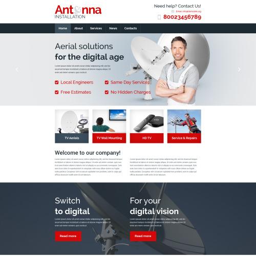 Antenna - Responsive Website Template