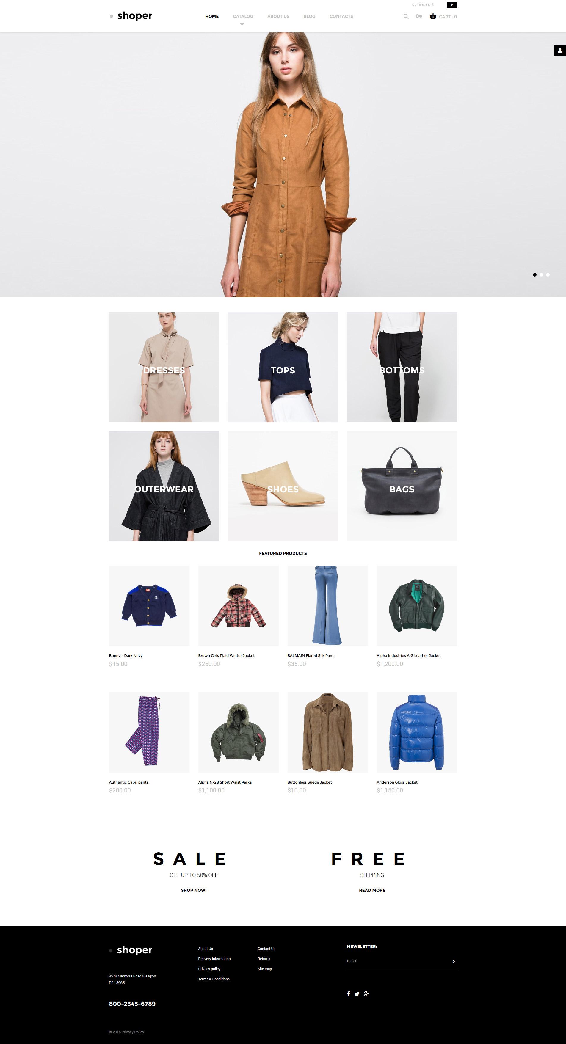 Shoper VirtueMart Template