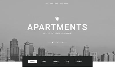 Thème WordPress adaptatif  pour site d'agence immobilière