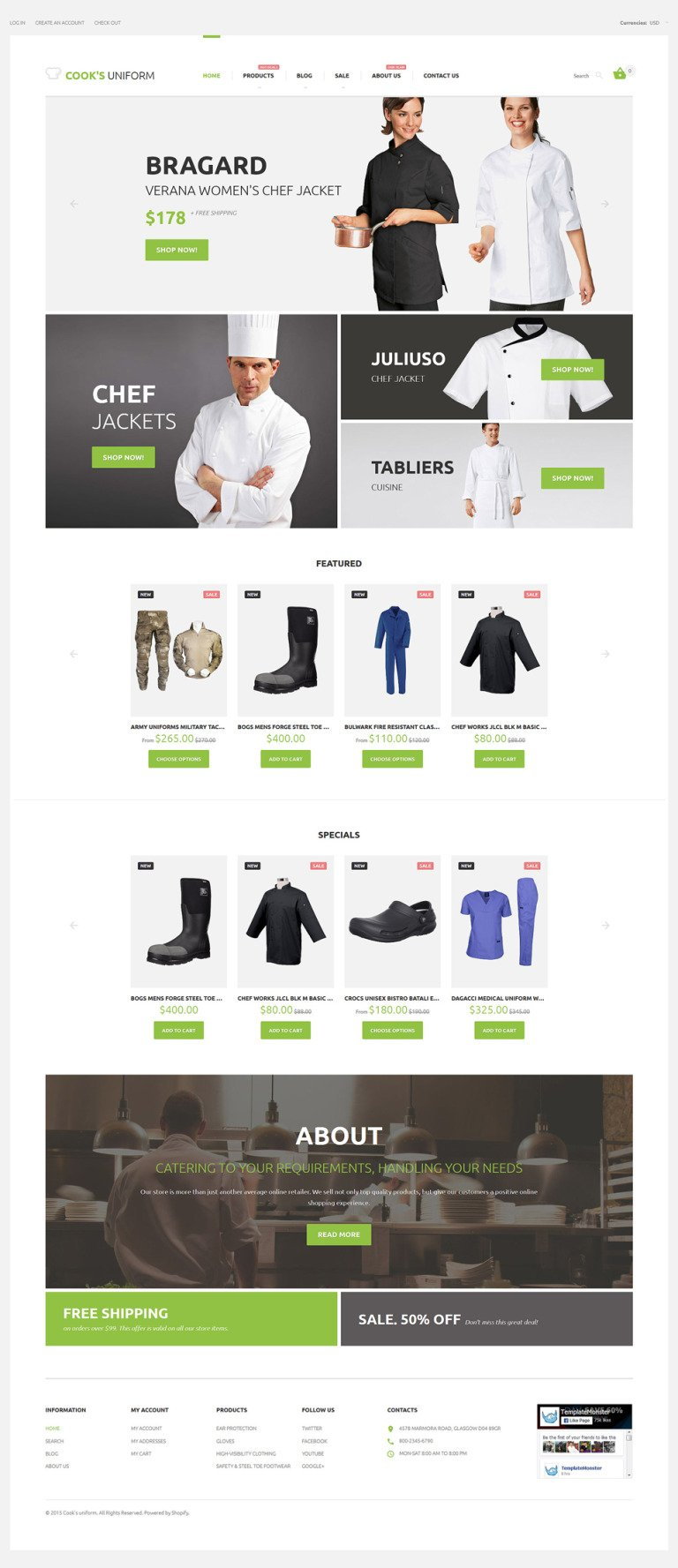 Uniform Store Responsive Shopify Theme New Screenshots BIG