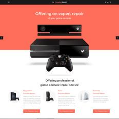 Games website templates video games toneelgroepblik Gallery