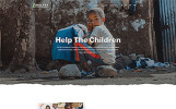 "Website Vorlage namens ""Helper - Charity Foundation Multipage Classic HTML5 Bootstrap"""
