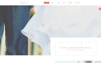 Wedding AG Joomla Template