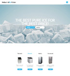 Food & Drink Website  Template 57701