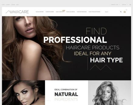 Hair Care PrestaShop Theme