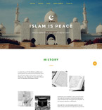 Religious Landing Page  Template 57706