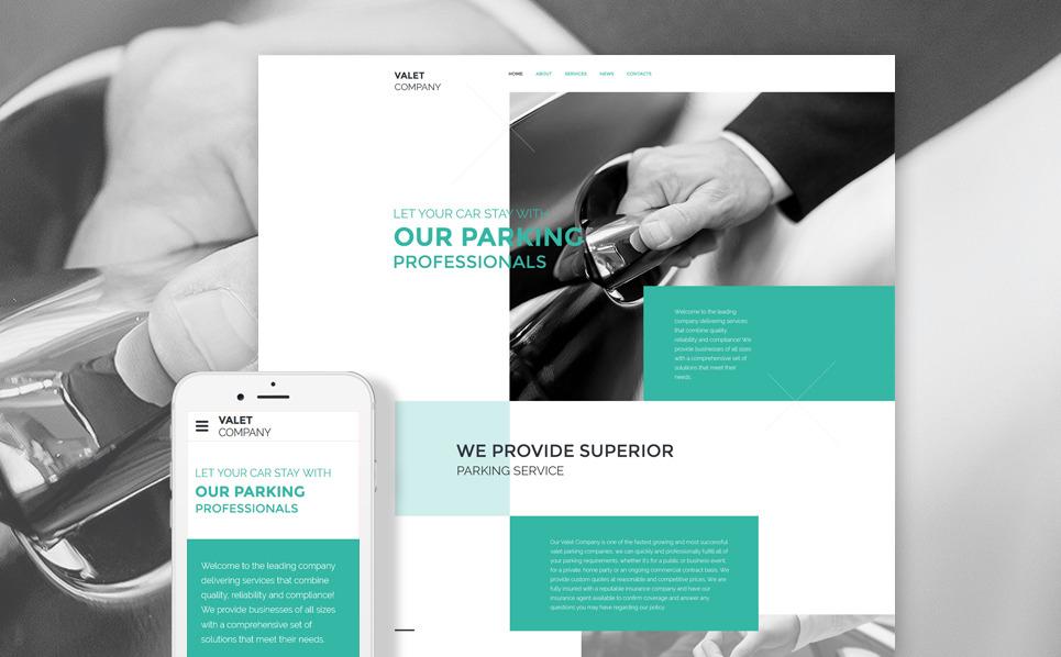 Responzivní Šablona webových stránek na téma Služby údržby New Screenshots BIG