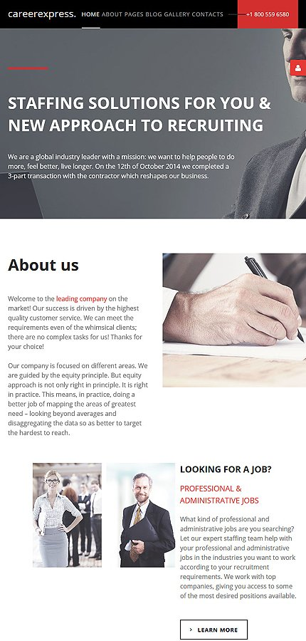 Joomla Theme/Template 57713 Main Page Screenshot