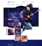 Music OpenCart  Template 57715