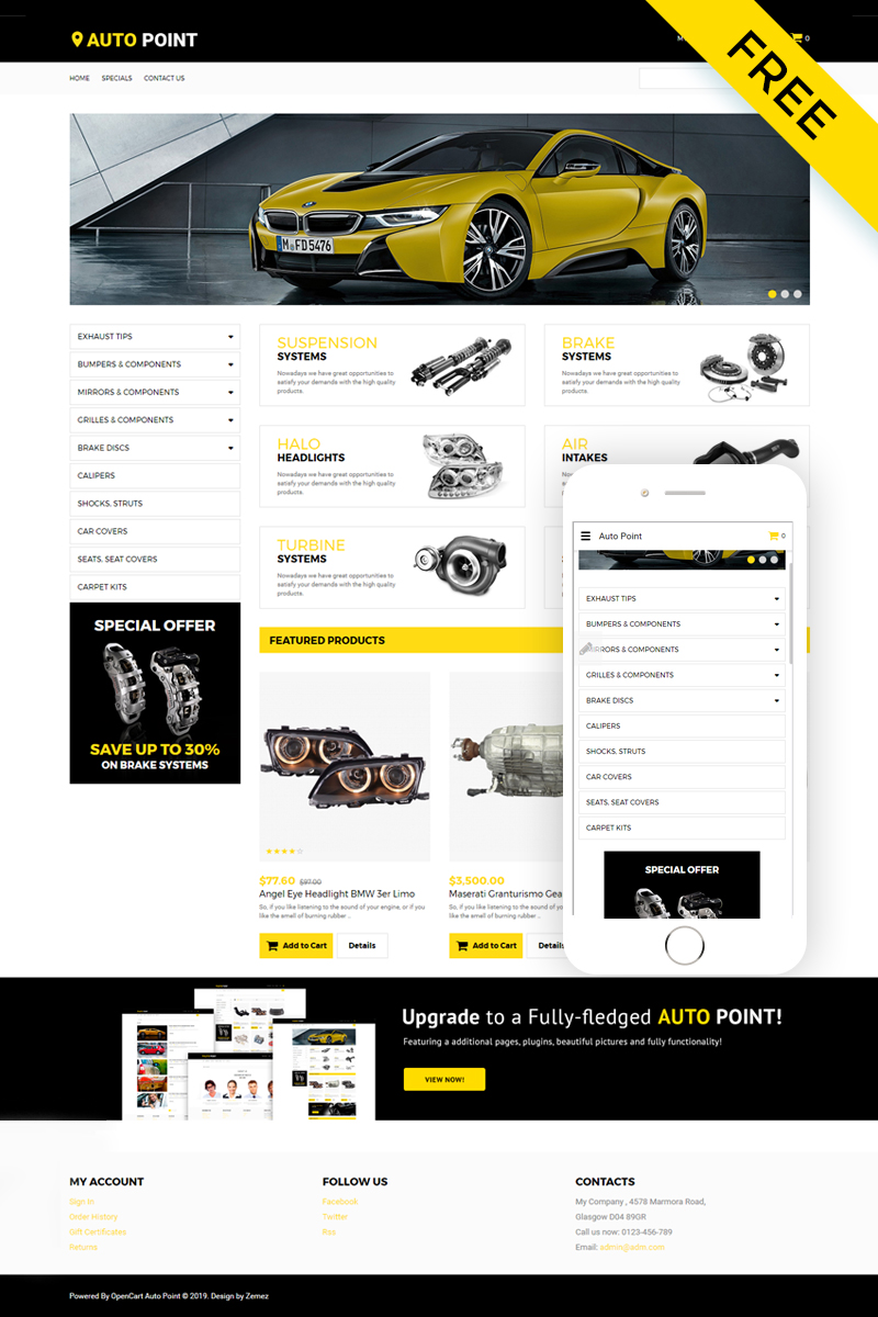 ADOBE Photoshop Template 57718 Home Page Screenshot