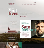 Religious Website  Template 57720