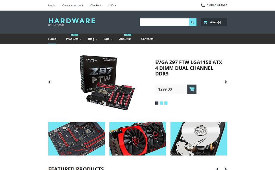 Responzivní Shopify motiv na téma Počítačový obchod New Screenshots BIG