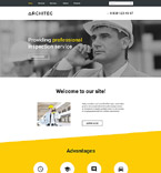 Architecture Website  Template 57730