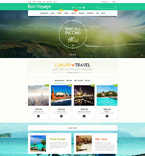 Travel PrestaShop Template 57737