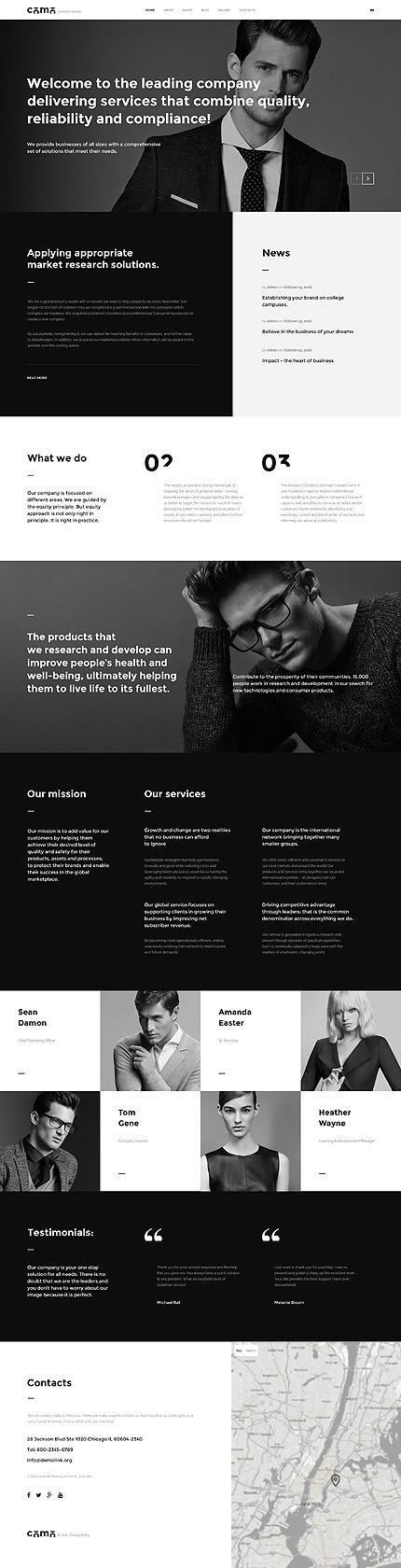 Joomla Theme/Template 57742 Main Page Screenshot