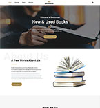Books Website  Template 57743