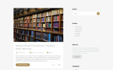 "Modello Siti Web Responsive #57743 ""Booksmart - Books for Rent Modern Multipage HTML5"""