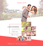 Dating Website  Template 57746