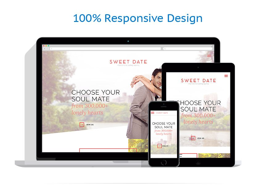 Modèles HTML5 Dating #57746
