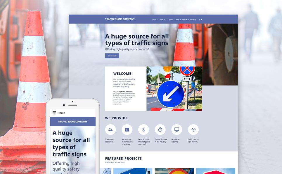 Reszponzív Autósiskolák Joomla sablon New Screenshots BIG