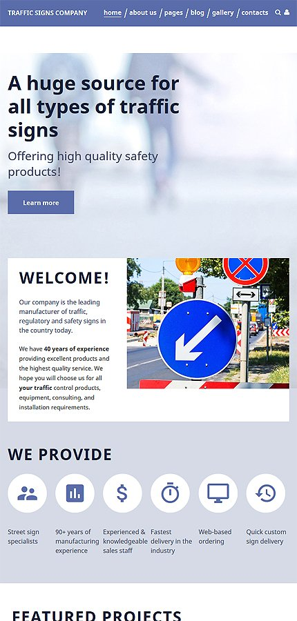 Joomla Theme/Template 57749 Main Page Screenshot