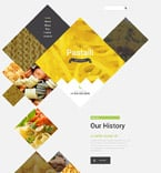 Cafe & Restaurant Website  Template 57750