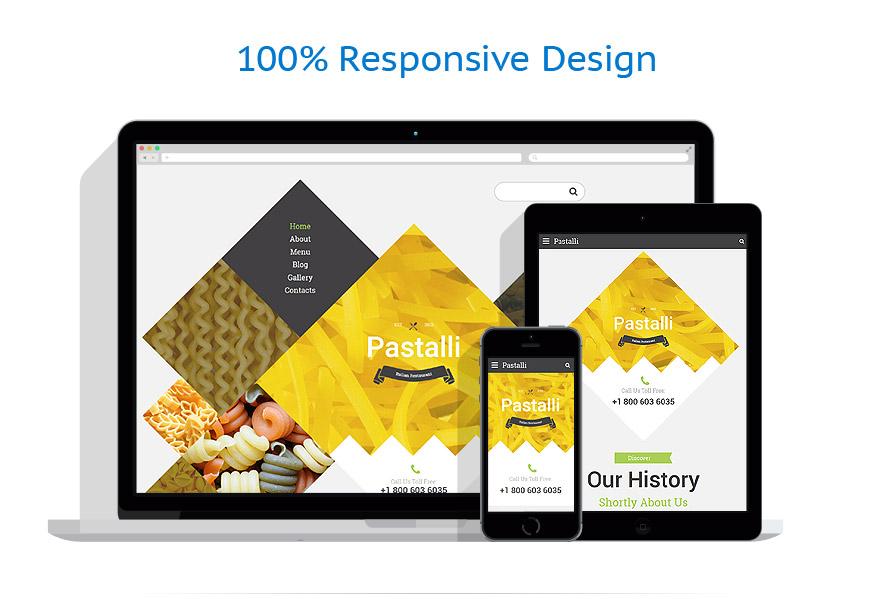 Modèles HTML5 Café et Restaurant #57750