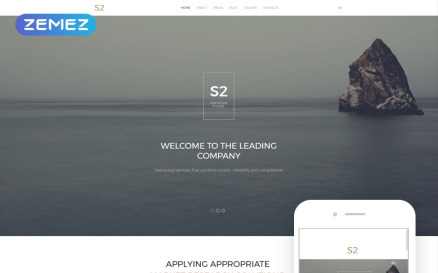 S2 Business Company Joomla Template