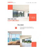 Furniture Website  Template 57754